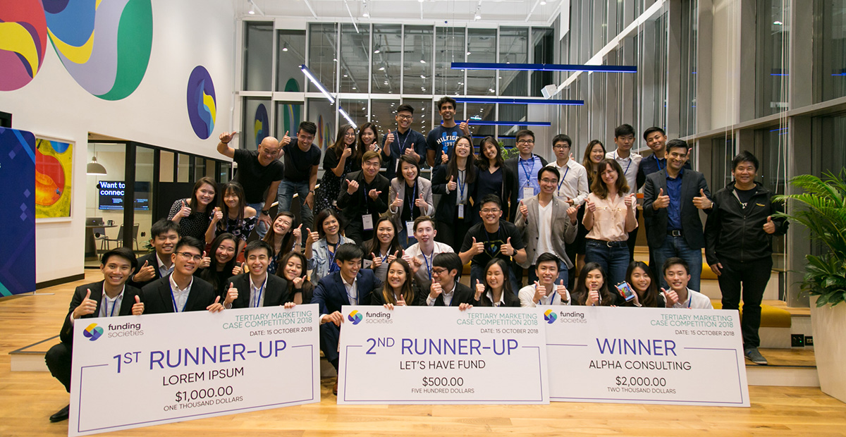 Funding Societies Tertiary Marketing Case Competition 2018