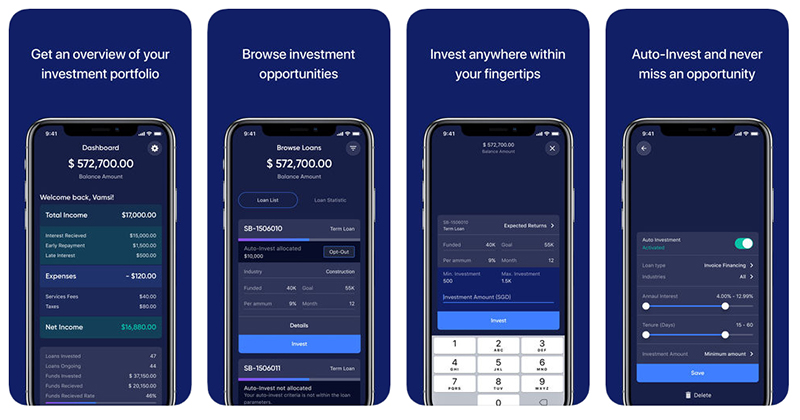 Funding Societies - P2P Lending Investor App