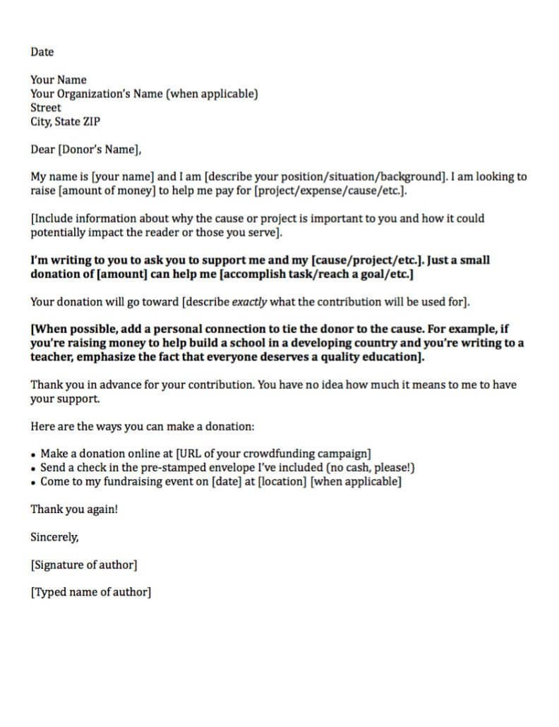 sample sponsorship letter for donations - April.onthemarch.co