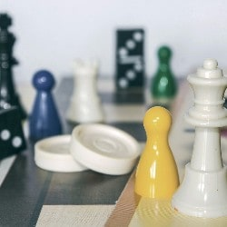 Host a game night as a fundraising event.