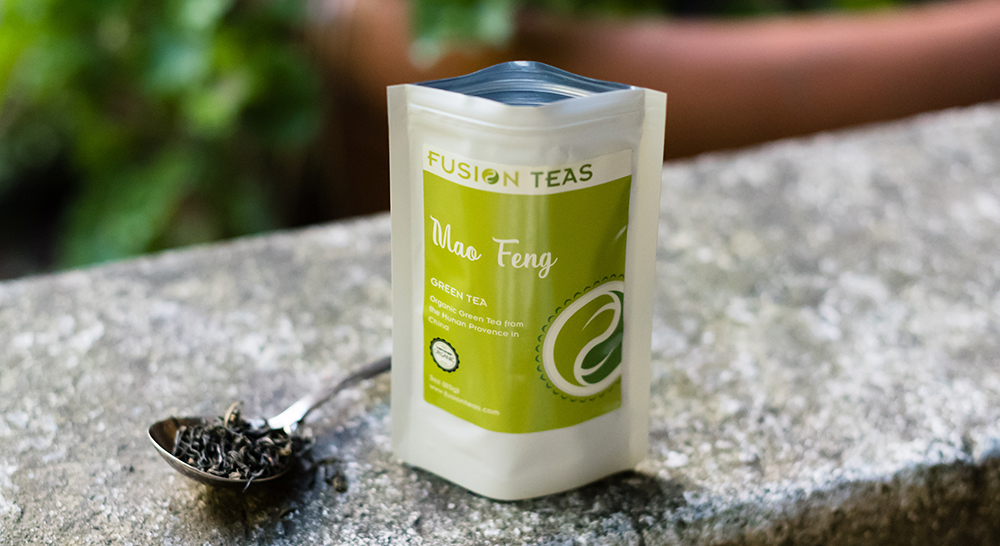 Mao Feng Organic Green Tea from Fusion Teas