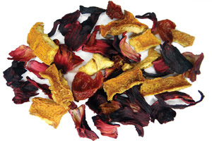 Blood Orange Hibiscus Tisane