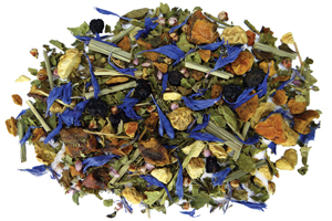 Blueberry Ginger Herbal Tea