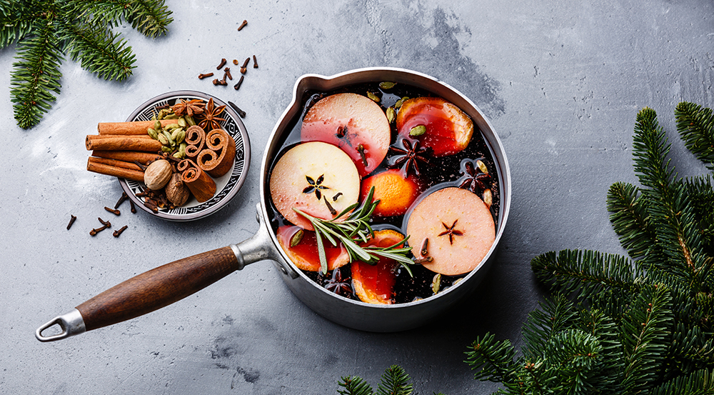 Mulled Wine Recipe with Spices
