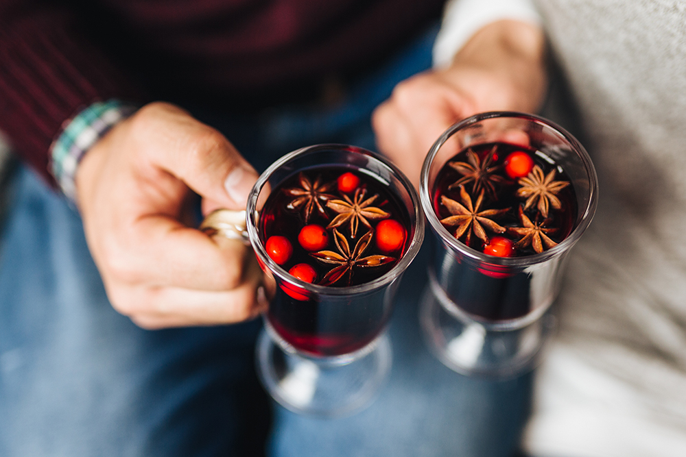 Mulled Wine Recipe with Spiced Tea