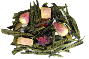 Pink Earl Grey Green Tea for tea parties and Mother's Day