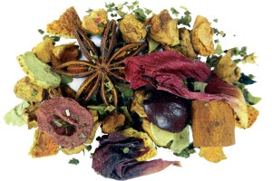 Winter Solstice Herbal Tea