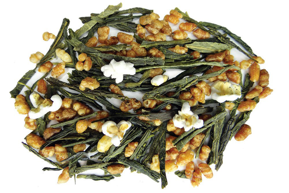 Fusion Teas Organic Genmaicha Popped Rice Green Tea