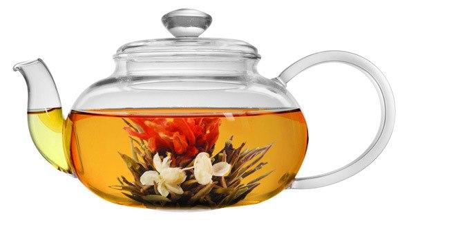 Elegant Glass Teapot for Mother's Day gift idea