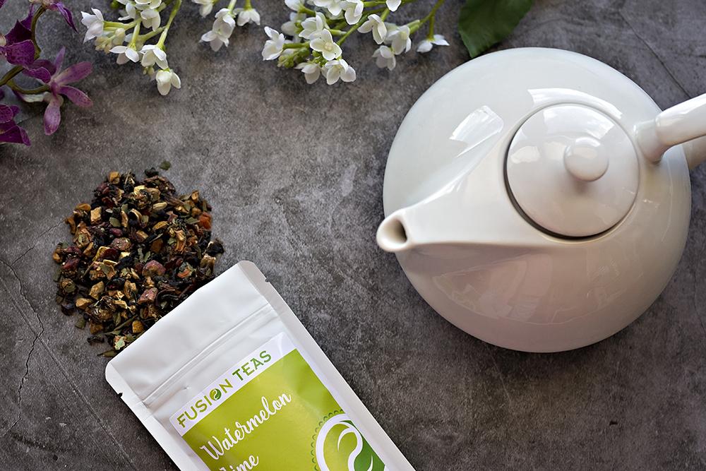 Teaware to brew loose leaf tea