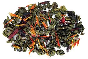 Raspberry Sunburst Green Tea with Lemon Honey