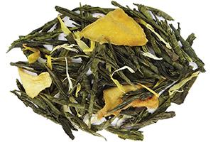 Sweet Mirabelle Green Tea with Mango