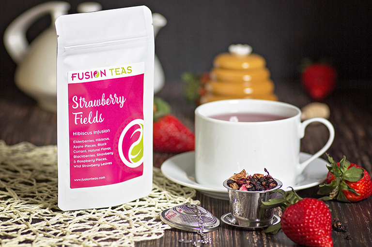Strawberry Fields Hibiscus Tea
