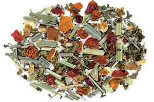 Cold Comfort Tulsi Herbal Tea with Orange