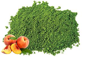 Peach Matcha Green Tea Powder