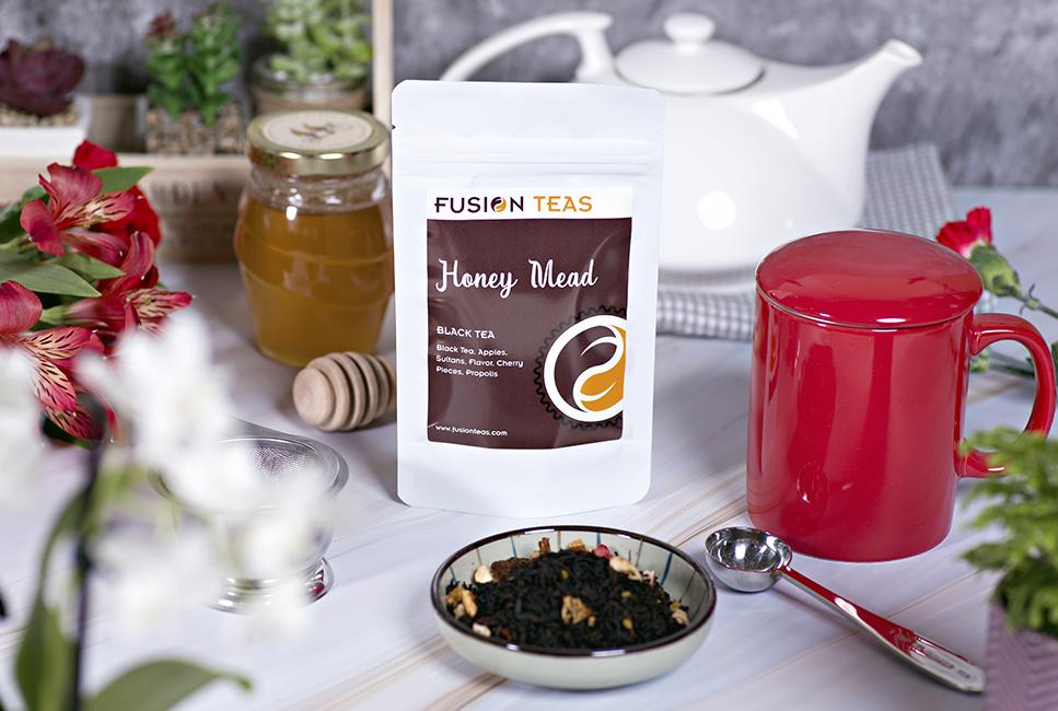 Honey Mead black tea energy drink alternative