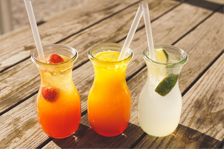 Summer Tea Mocktails