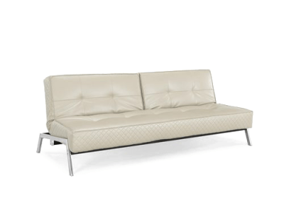 Copenhagen Marquee Convertible Sofa Bed Creme by Lifestyle