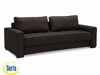 Ascott Convertible Sofa Dark Grey by Serta / Lifestyle
