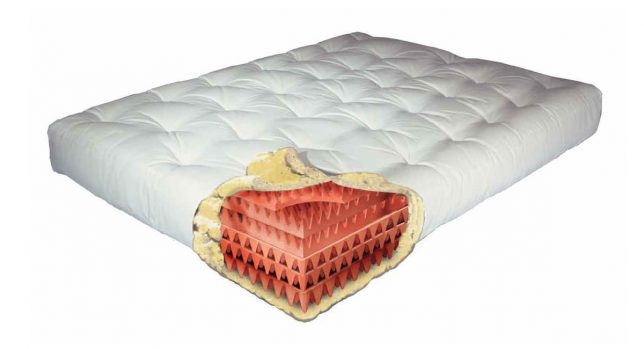 Gold Bond Feather Touch II 9 Inch Futon Mattress