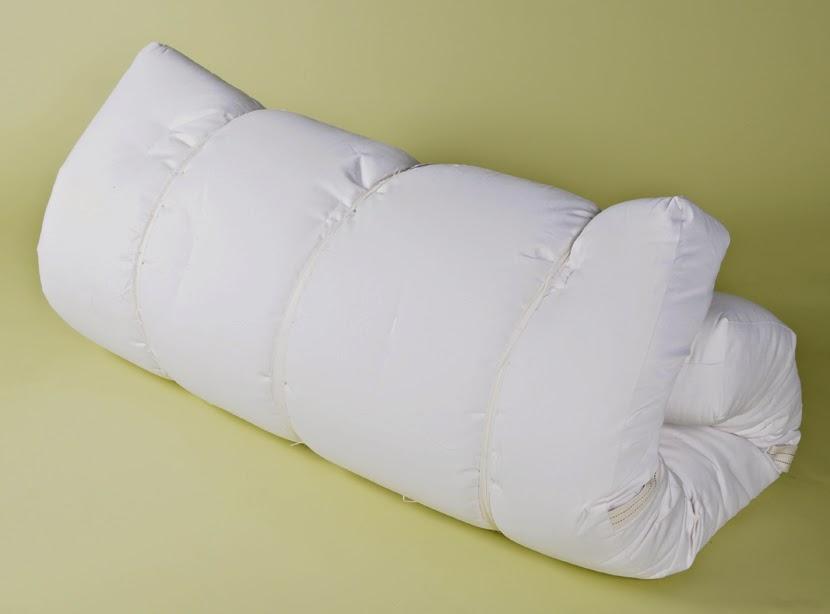 White Lotus Organic Cotton, Wool U0026 Latex 6 Inch Futon Mattress
