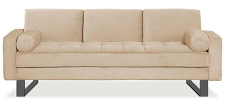 The Malta Brings The Air Of Casual Couch And Functionality To Your Living  Room. With Itu0027s Elegant Taupe Color And Comfy Coil Cushions, This  Convertible Will ...