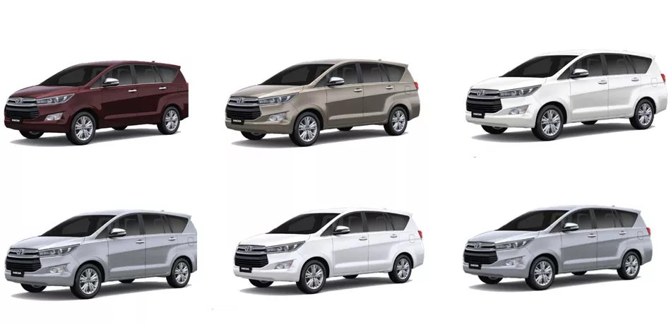 review grand new kijang innova diesel toyota yaris trd sportivo price in india crysta colors red bronze white grey silver super all