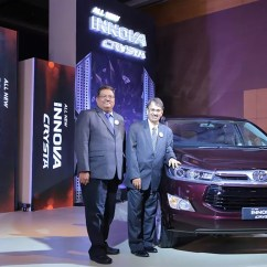 All New Kijang Innova Crysta Double Din Grand Veloz Toyota Launched In Mumbai Gaadikey