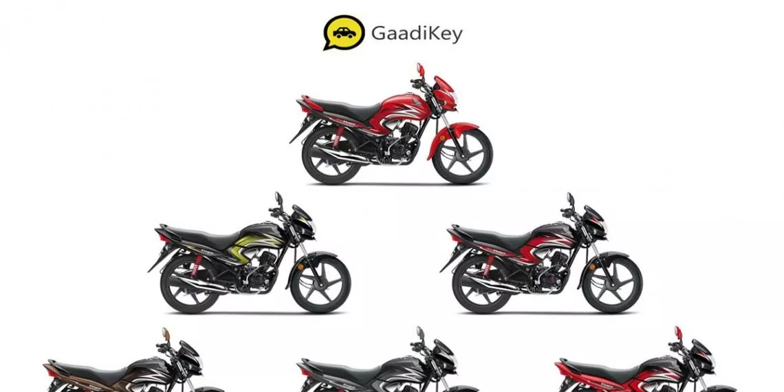 2019 Honda Dream Yuga Colors- Black, Red, Yellow, Brown