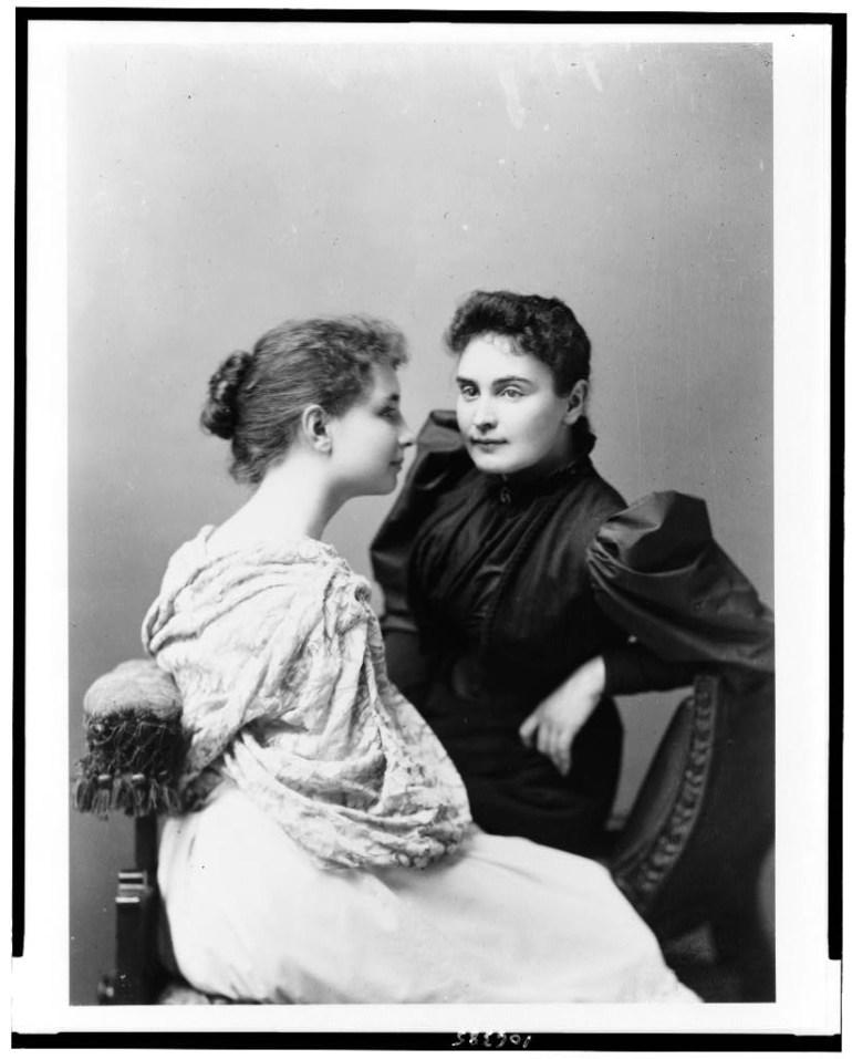 Helen Keller e Anne Sullivan