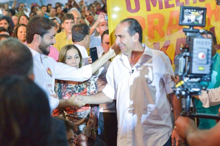 A convenção partidária onde virei candidato a vereador e Alexandre Kalil virou canddiato a prefeito