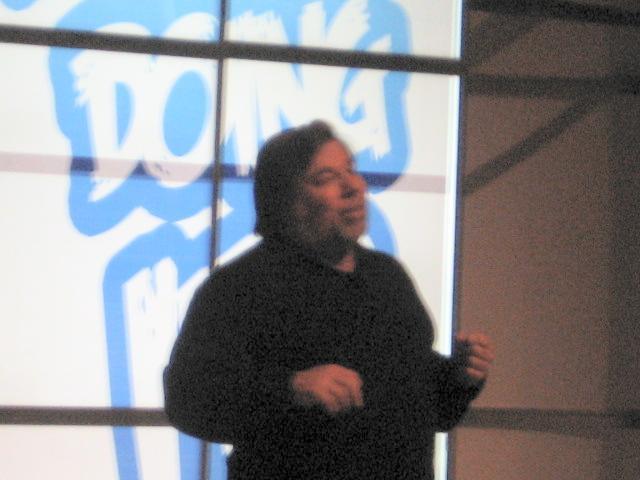 Solo queria mi libro firmado por Steve Wozniak