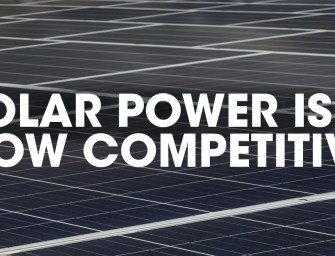 Solar Power is Now Competitive
