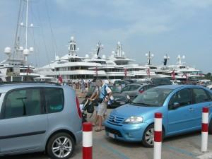Hafen Porto Cervo, Sardinien