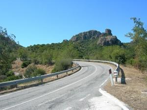 In die Berge Richtung Perdasdefogu