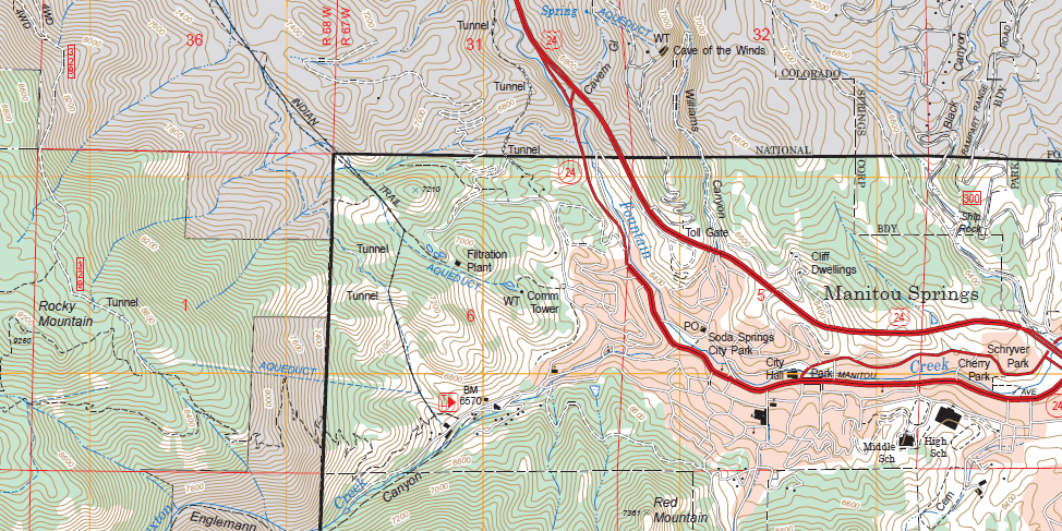 How to Read a USGS Topo Map - Gaia GPS
