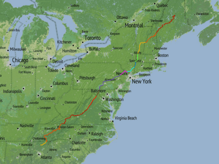 Maps for the Appalachian Trail