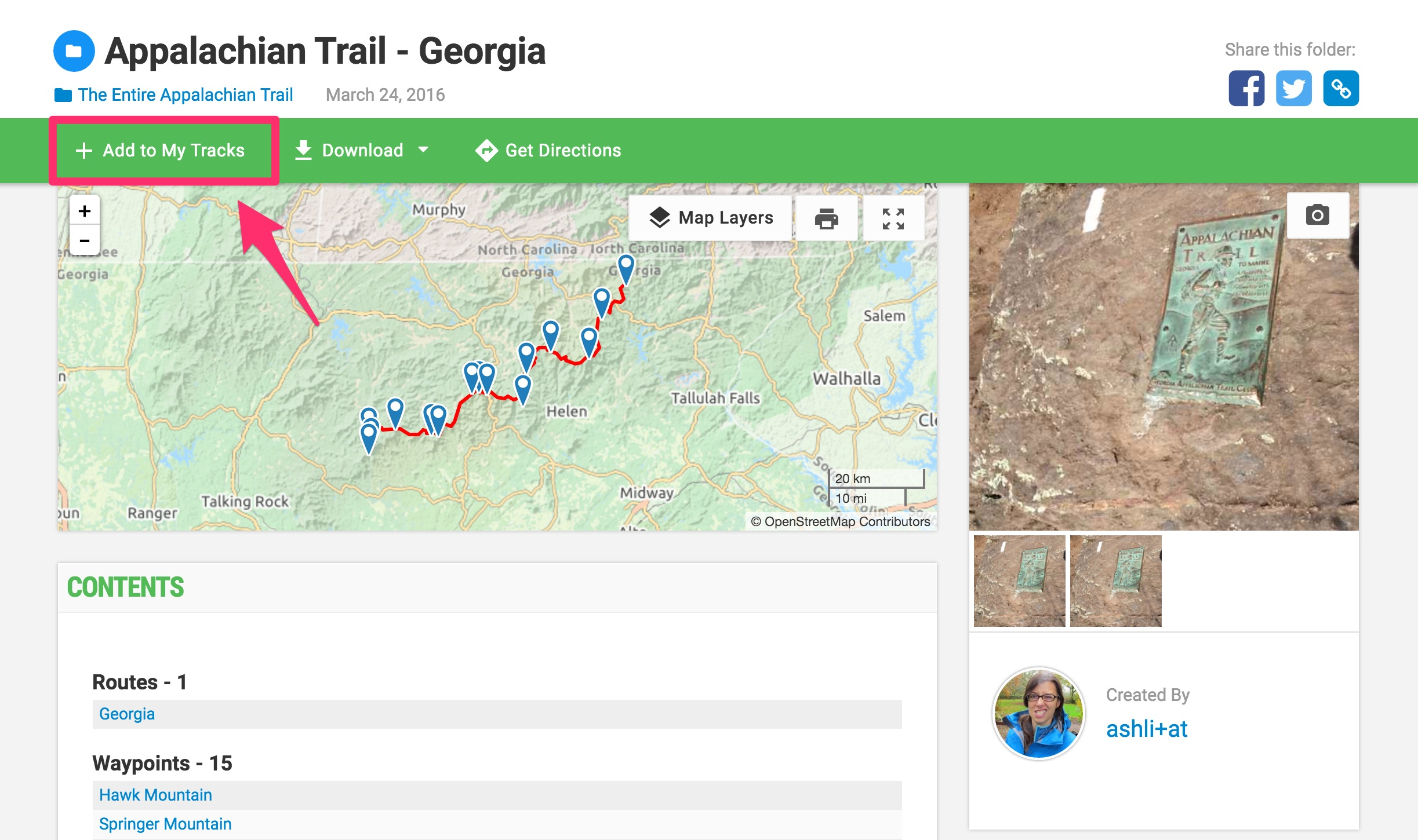 Maps and Tracks for the Entire Appalachian Trail - Gaia GPS