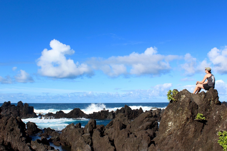 Walker on Big Island, Hawaii.