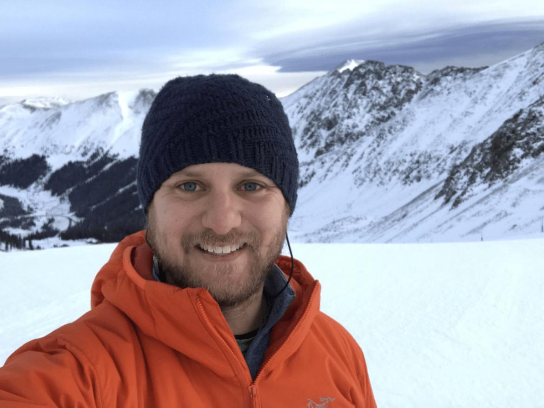 Jon selfie in the mountains
