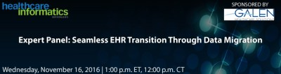 Seamless EHR Transition Through Data Migration Webinar