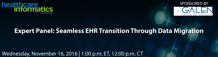 Missed the webcast? Our Expert EHR Transition Panel Recap