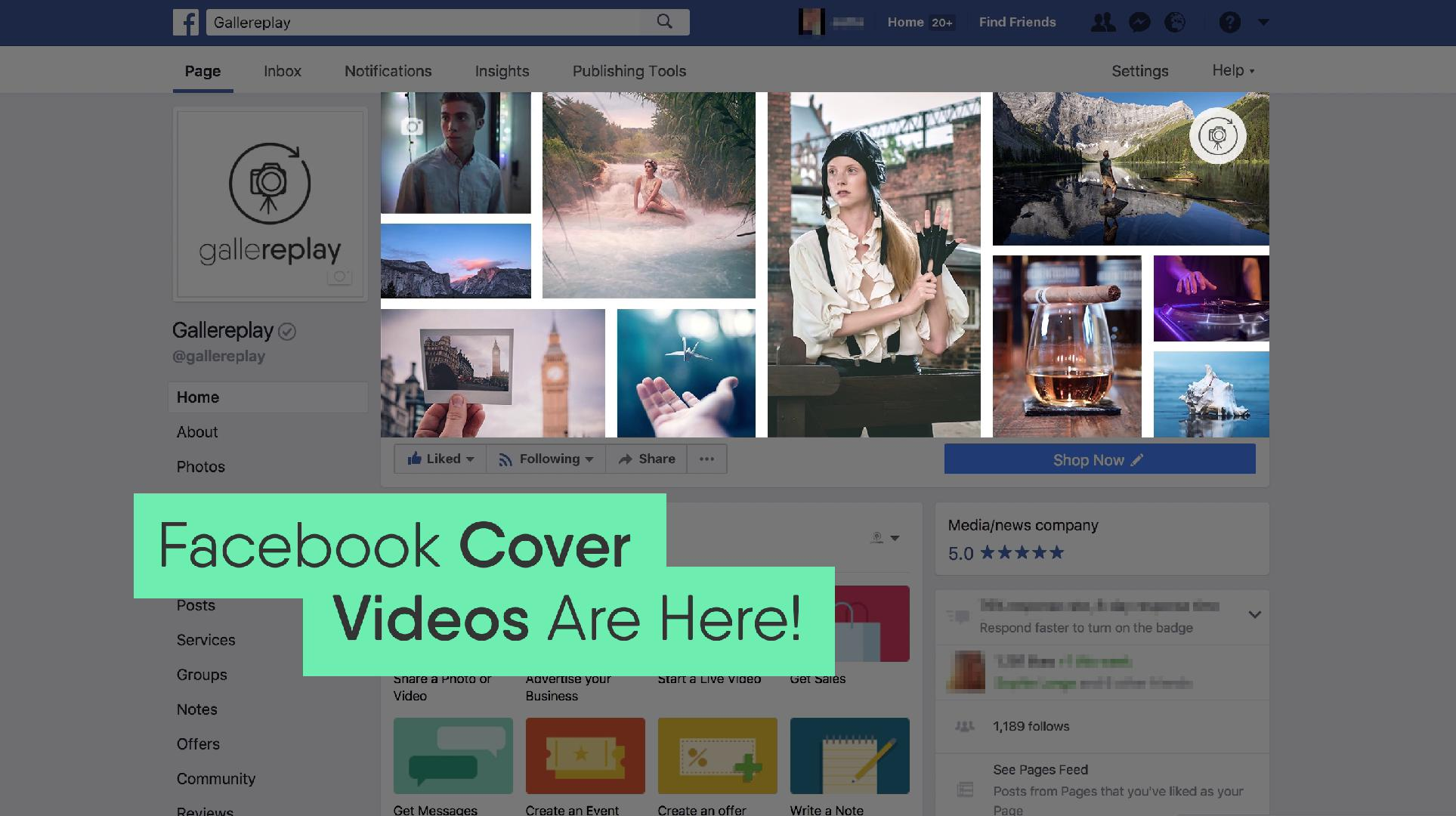 Everything You Need To Know About Facebook Cover Videos