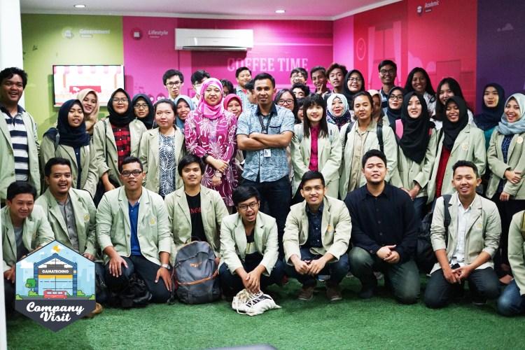 FEB UGM Pelajari Management Projects IT di Gamatechno