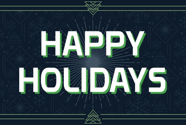 Happy Holidays GameDay Gear