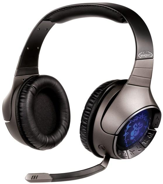 Sound Blaster® World of Warcraft® Wireless Headset Alliance