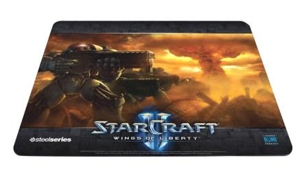 "Tapis de souris SteelSeries Qck ""Starcraft 2"""