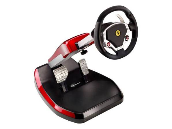 Volant « Ferrari Wireless GT Cockpit 430 Scuderia Edition » de Thrustmaster