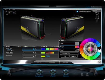 Dell Alienware Aurora R4 - Personnalisable par jeu de lumière