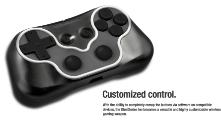 Gamepad Steelseries Ion : bouton configurable
